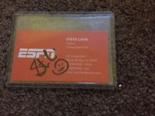 Autographed Steve Lavin ESPN Business Card