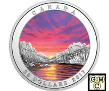 2017 Fiery Sky-Weather Phenomenon Prf $20 Silver Coin 1oz .9999 Fine (NT)(17871)