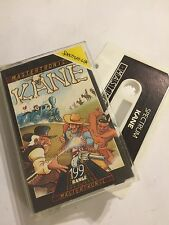 KANE SINCLAIR ZX SPECTRUM 48K CASSETTE TAPE PC GAME By MASTERTRONIC