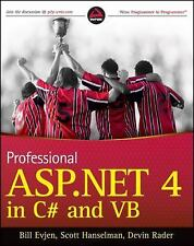 Professional ASP.NET 4 in C# and VB by Devin Rader, Scott Hanselman and Bill...