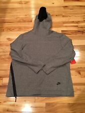 Nike Sportswear Tech Fleece Funnel Neck Hoodie 805214 091 LARGE NWT