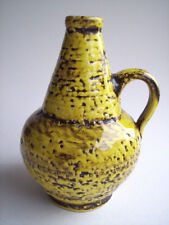 Keramik Vase Krug Silberdistel West-Germany pottery design Fat Lava era vintage