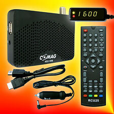 Comag HD25 HDMI USB PVR Ready 12V/230V Satelliten-Receiver  + 12V KFZ-Kabel