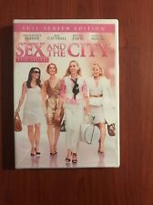SEX AND THE CITY THE MOVIE DVD, SARAH JESSICA PARKER, KIM CATTRALL, KRISTEN DAVI