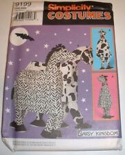 Simplicity 9199 One or Two Person ZEBRA COW HORSE Costume Sewing Pattern Uncut