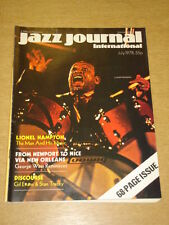 JAZZ JOURNAL INTERNATIONAL VOL 31 #7 1978 JULY GEORGE WEIN LIONEL HAMPTON