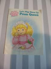 Vintage Ertl Playground Play Ground Kids Dress up Prom Queen Booklet Brochure !!