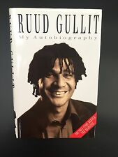 RUUD GULLIT THE AUTOBIOGRAPHY CHELSEA NEWCASTLE FOOTBALL BOOK