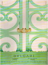▬► PUBLICITE ADVERTISING AD Montre Watch BVLGARI BULGARI 1994