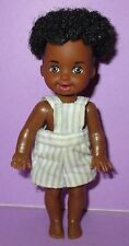 Barbie Tommy Kelly Big Brother Ken Baby 1996 AA African American Boy Rooted