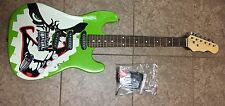 Batman Joker Electric Guitar Exclusive DC Six Flags  Dark Knight Full Size