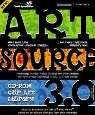 ArtSource CD-ROM Clip Art Library 3.0, Church Artworks, The, Art Parts, New