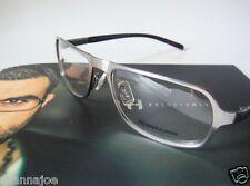 Gimme Glasses Titanium 54-16 Silver Avant Garde Modern Eyeglass Frame Specs Mens