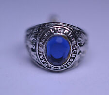 VINTAGE STERLING SILVER 3D EAST CATHOLIC SCHOOL RING CHARM