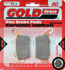 Sinterizado Freno Trasero almohadillas > Aprilia Shiver 750 Gt (ABS) 2009 2010 2011 2012 2013