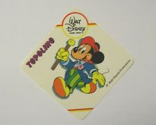 VECCHIO ADESIVO / Old Sticker DISNEY HOME VIDEO TOPOLINO Mickey Mouse (cm 8x8)