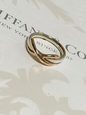 Mint Authentic Tiffany & Co. Infinity Ring Silver Rose Gold RP525