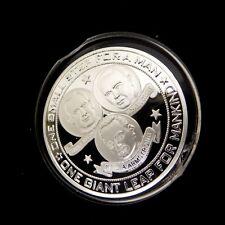 Moon Landing Coin Apollo 11 Space NASA USA Sci-Fi Science