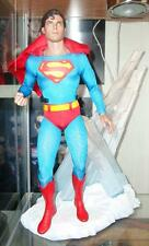 SUPERMAN HOT TOYS sideshow  12 FIGURE DC REEVE statue batman IN STOCK