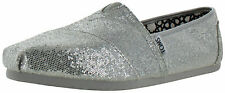 Toms Glitter Women's Slip On Espadrille Shoes Size 12