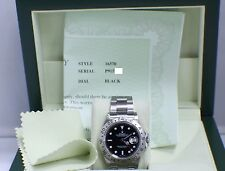 ROLEX EXPLORER II 16570 STAINLESS STEEL BLACK DIAL 2001