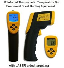 IR Infrared Thermometer Temperature Gun - Paranormal Ghost Hunting Equipment