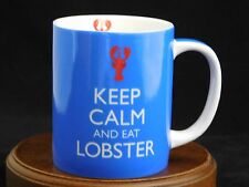 Keep Calm and Eat Lobster On Porcelain Mug