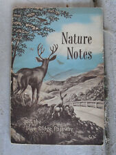 Vintage 1953 Booklet - Nature Notes on the Blue Ridge Parkway