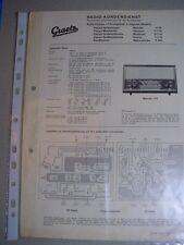 C731/ Graetz Radio Kundendienst Technische Information Radio Chassis 1118