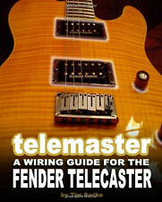 Fender Telecaster Guitar Body Building DIY Unfinished Wiring Kit Book on CD