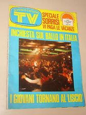 TV SORRISI CANZONI=1973/20=CASADEI=LED ZEPPELIN=NANDO GAZZOLO=GLENDA JACKSON=