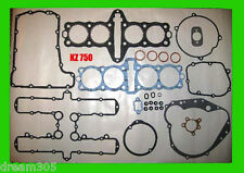 Kawasaki KZ750 KZ 750 Engine Gasket Set 1980 1981 1982 Four Cylinder - New!