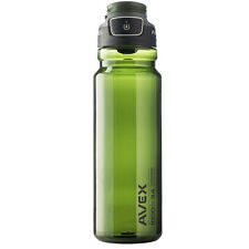 Avex 34 oz. FreeFlow Autoseal Water Bottle - Olive