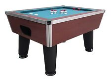 BUMPER POOL TABLE in CHERRY~SLATE~PROFESSIONAL~COMMERCIAL GRADE~BERNER BILLIARDS