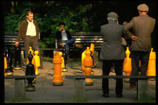 580031 Chess Players In Stadt Park Freiburg A4 Photo Print