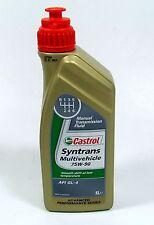 Castrol Syntrans Mulitvehicle 75W-90/1 Liter API GL-4 MB 235.72 Ford WSD