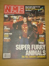 NME 2001 JUN 30 SUPER FURRY ANIMALS STROKES GORILLAZ