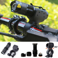 8000lm Cree Q5 LED Cycling Bike Bicycle Head Light Flashlight 360° Mount Clip MT
