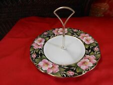 """Beautiful Collection ROYAL ALBERT """"Old Country Rose"""" Sandwich Server with Handle"""