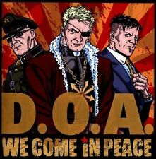 DOA We Come In Peace CD d.o.a jello biafra beatles billy talent headstones! NEW!