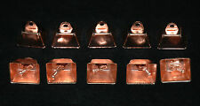 "10 COPPER COLORED 1 1/4"" COW BELLS BIRD CAT TOY PARTS CRAFTS"