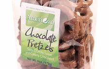 6oz Gourmet Style Bag of Creamy Milk Chocolate Covered Pretzels [3/8 lb.]