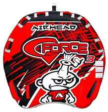 Airhead G Force 3 Person Durable Nylon Cover Inflatable Towable Tube