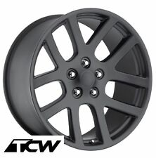 """(4) 20 inch 20x9"""" Dodge Viper Style Matte Black Wheels Rims fit Charger 2006-17"""
