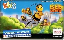 CARTE/CARDS  KIDS VIDEO FUTUR BEE MOVIE  - NEUVE ETAT LUXE