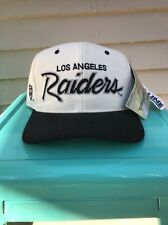 NWT Vintage Sports Specialties Los Angeles Raiders Wool Script Snapback NWA DRE