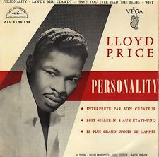 LLOYD PRICE PERSONALITY FRENCH ORIG EP 45 PS 7""
