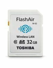 WIFI Wireless SD Memory Card Toshiba Flashair II 32GB W03 SDHC Class 10 NEW