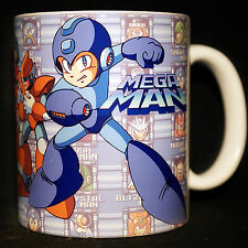 MEGA MAN - Coffee MUG CUP - Megaman Rockman - Legends - Zero - Powered up