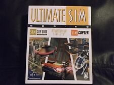 Ultimate Sim Series. Sim City 2000 Special Ed., Streets Of Sim City, Sim Copter.
